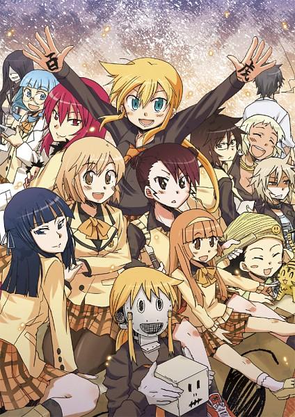 Tags: Anime, Pikachi (Pixiv65947), Hyakko, Kazamatsuri Touma, Suzugazaki Chie, Nikaidō Hitsugi, Makunouchi Ushio, Saotome Suzume, Amagasa Kyouichirou, Kageyama Torako, Andō Nene, Iizuka Tatsuki, Ooba Minato