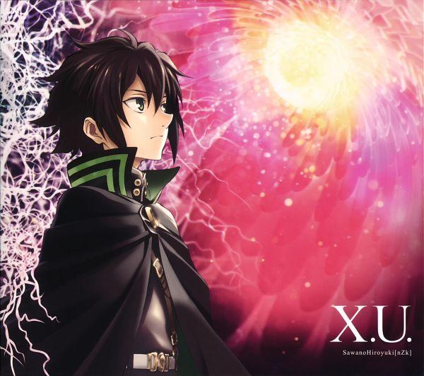 Tags: Anime, WIT STUDIO, Owari no Seraph, Hyakuya Yuuichirou, Official Art, Scan, CD (Source)