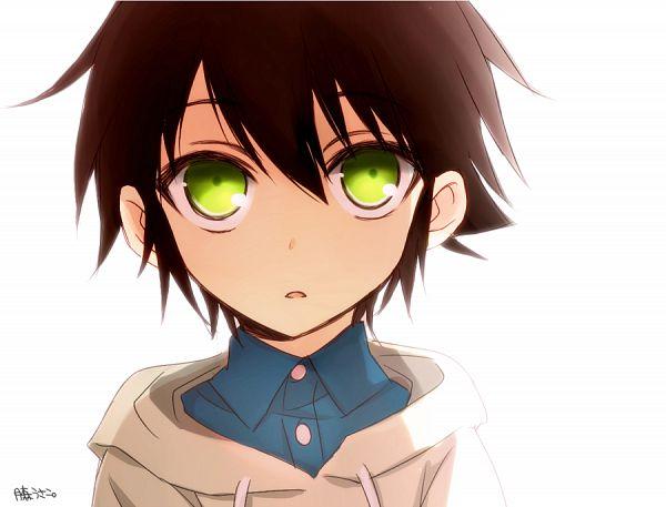 Tags: Anime, Tsukimori Usako, Owari no Seraph, Hyakuya Yuuichirou, PNG Conversion