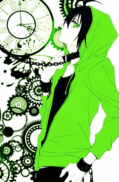 Tags: Anime, Tsukimori Usako, Owari no Seraph, Hyakuya Yuuichirou, PNG Conversion, Mobile Wallpaper, Pixiv, Fanart, Fanart From Pixiv