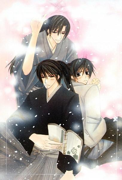 Tags: Anime, Nakamura Shungiku, Hybrid Child, Tsukishima (Hybrid Child), Kuroda (Hybrid Child), Seya Ichi, Brown, Official Art