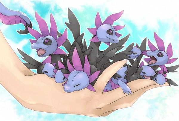 Tags: Anime, Pixiv Id 1440486, Pokémon, Hydreigon, Mini Dragon