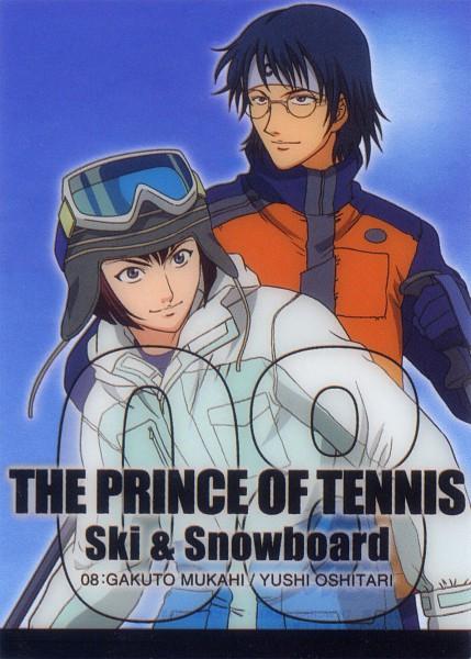 Tags: Anime, Tennis no Ouji-sama, Oshitari Yuushi, Mukahi Gakuto, Official Art, Hyotei Academy
