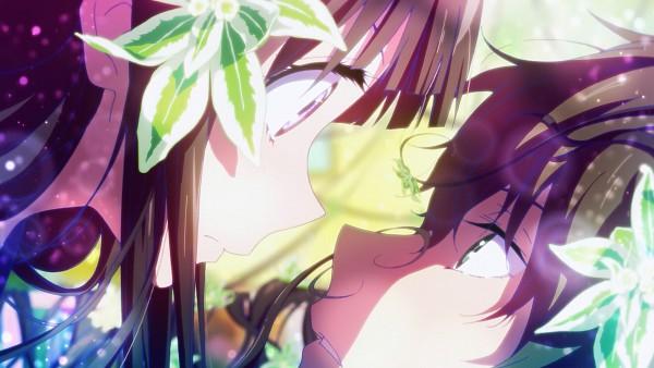 Tags: Anime, Kyoto Animation, Hyouka, Oreki Houtarou, Chitanda Eru, HD Wallpaper, Facebook Cover, Artist Request, Screenshot, Wallpaper