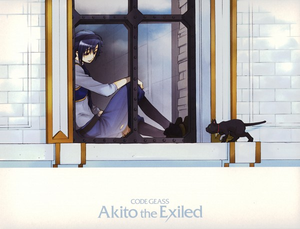 Tags: Anime, Sunrise (Studio), Code Geass: Boukoku no Akito, Hyuuga Akito, End Cards, Official Art, Code Geass: Boukoku no Akito - End Cards, Scan