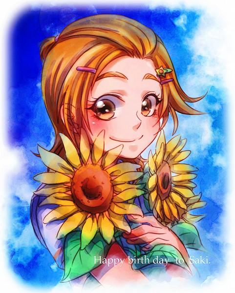 Tags: Anime, Pixiv Id 1194657, Futari wa Precure Splash Star, Hyuuga Saki, Fanart From Pixiv, Pixiv, Fanart