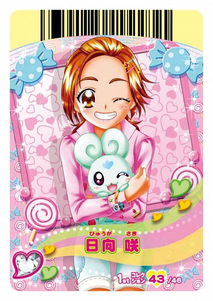 Tags: Anime, Futari wa Precure Splash Star, Precure All Stars, Data Cardass Precure All Stars, Flappy, Hyuuga Saki, Scan, Card (Source), Official Art