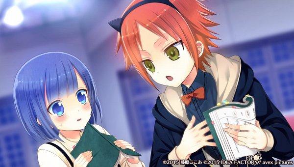 Tags: Anime, Fujiwara Cocoa, Otomate, IDEA FACTORY, Avex Pictures Inc., I DOLL U, Amane Aika, Shidou Reo, Official Art, CG Art