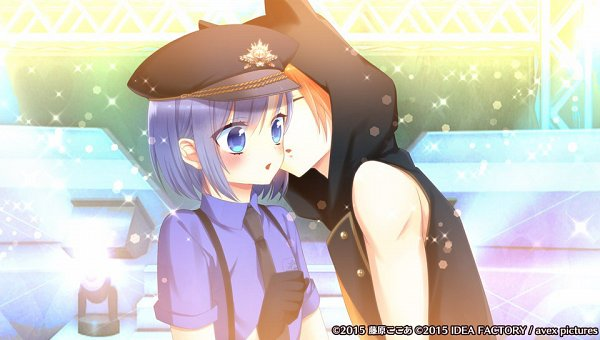 Tags: Anime, Fujiwara Cocoa, Otomate, IDEA FACTORY, Avex Pictures Inc., I DOLL U, Amane Aika, Shidou Reo, Surprise Kiss, Official Art, CG Art