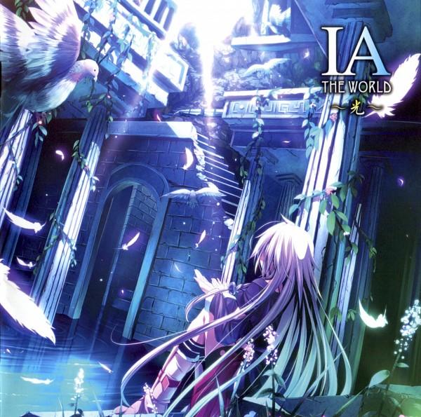 Tags: Anime, ryosios, VOCALOID, IA, Column, Scan, CD (Source)