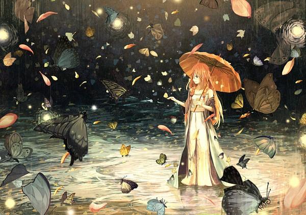 Tags: Anime, Gemi, VOCALOID, IA, Walking On Water, Pixiv, Fanart, Fanart From Pixiv