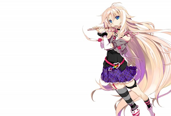 Tags: Anime, Fujima Takuya, VOCALOID, IA, Blank Stare, Render, Fanart, PNG Conversion