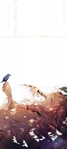 Tags: Anime, Pixiv Id 2199156, VOCALOID, IA, Bird on Hand, Animal on Hand, Fanart, Fanart From Pixiv, Pixiv