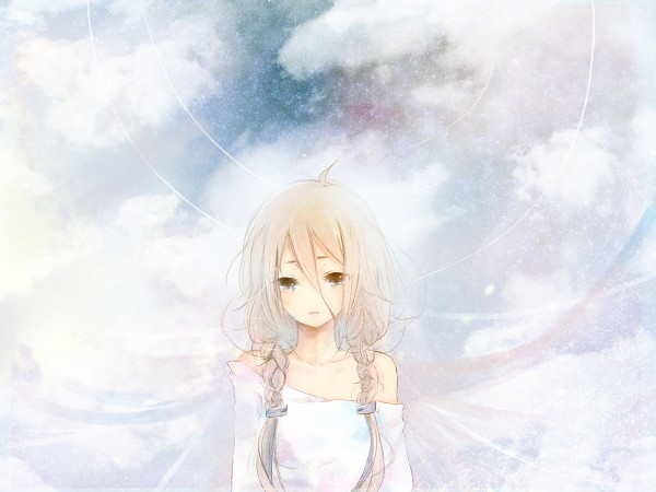 Tags: Anime, Penchop, VOCALOID, IA, Piapro Illustrated, Wallpaper, Fanart From Piapro, Fanart