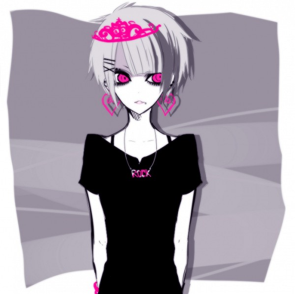 Tags: Anime, IBUKI (Carol), Gothic Outfit, Helix Piercing, PNG Conversion, Pixiv, Original