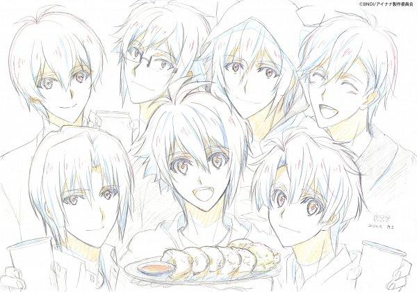 Tags: Anime, TROYCA, IDOLiSH7: Second Beat!, IDOLiSH7, Nikaido Yamato, Ousaka Sougo, Izumi Iori, Nanase Riku, Rokuya Nagi, Izumi Mitsuki, Yotsuba Tamaki, Gyoza (Food), Kigurumi