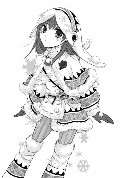Tags: Anime, Azytte, Ib, Monster Hunter Series, Ib (Character), Monster Hunter (Cosplay), Fanart From Pixiv, Pixiv, Urukususu (Armor), Fanart, Mobile Wallpaper