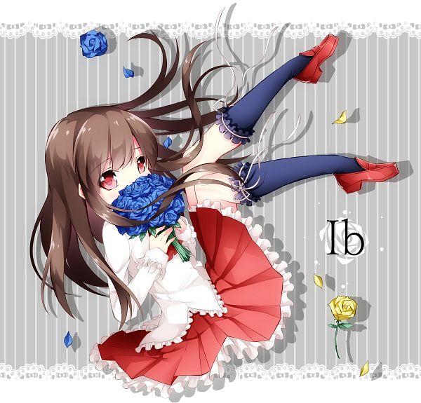 Tags: Anime, Inumine Aya, Ib, Ib (Character), PNG Conversion