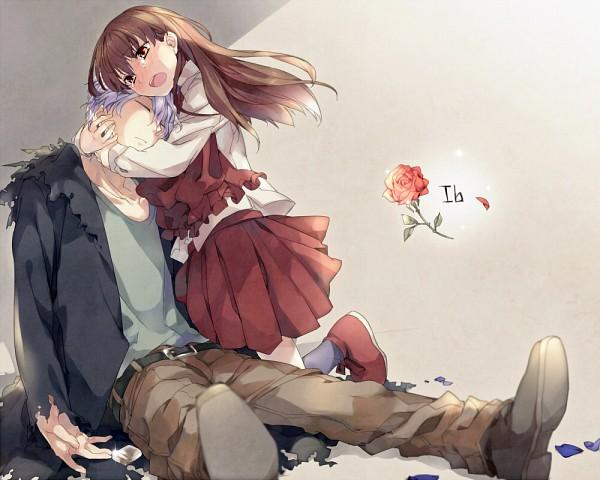 Tags: Anime, Circa, Ib, Ib (Character), Garry, Desperate, Lighter, 1000x800 Wallpaper, Fanart, Fanart From Pixiv, Pixiv