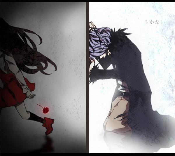 Tags: Anime, Pixiv Id 3698366, Ib, Ib (Character), Garry, Desperate, Translated, Pixiv, Fanart, Fanart From Pixiv