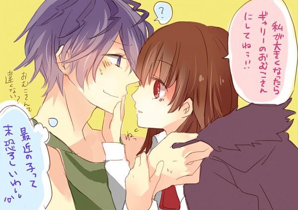 Tags: Anime, Musou Yuchi, Ib, Ib (Character), Garry, Fanart From Pixiv, Translation Request, Pixiv, Fanart