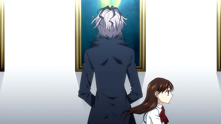 Tags: Anime, Yodobashi Yuo, Ib, Ib (Character), Garry, Museum, Pixiv, Fanart From Pixiv, Fanart, Facebook Cover, Fake Screenshot