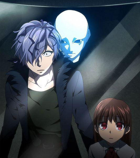Tags: Anime, Yodobashi Yuo, Ib, Ib (Character), Garry, Pixiv, Fanart, Fanart From Pixiv
