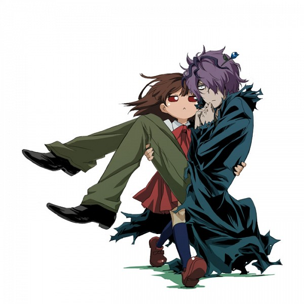 Tags: Anime, Shikihitohira, Ib, Ib (Character), Garry, O O, -^-, Fanart From Pixiv, Pixiv, Fanart