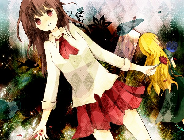 Tags: Anime, Ib, Mary (Ib), Ib (Character)