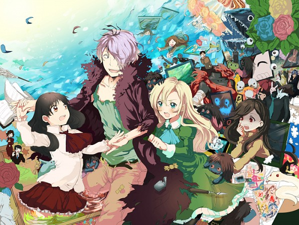 Tags: Anime, Pixiv Id 205405, Ib, Blue Doll, Ib (Character), Lady in Yellow, Garry, Ib's Mother, Lady in Green, Ib's Father, Lady in Blue, Death of the Individual, Mary (Ib)