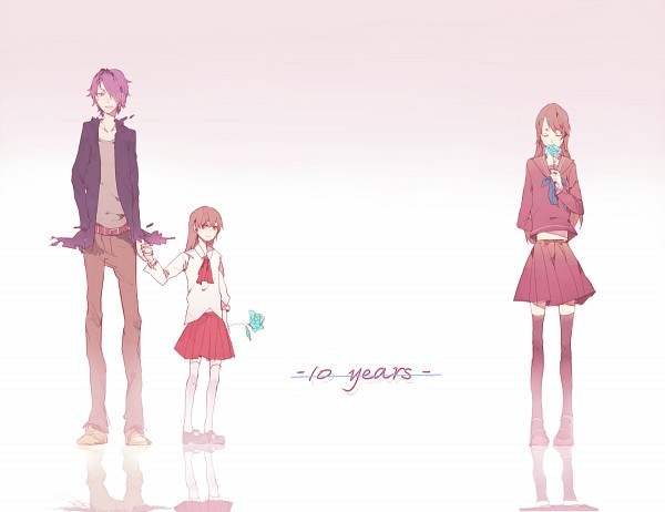 Tags: Anime, Pixiv Id 2827083, Ib, Ib (Character), Garry, PNG Conversion, Pixiv, Fanart, Fanart From Pixiv