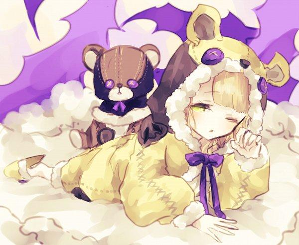 Tags: Anime, Pixiv Id 12769836, SINoALICE, Ibarahime (SINoALICE), Kigurumi, House Slippers, Pixiv, Fanart, Fanart From Pixiv, Sleeping Beauty (sinoalice)