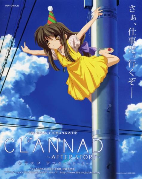 Tags: Anime, Kyoto Animation, KEY (Studio), Clannad TV Animation Visual Fan Book, CLANNAD, Ibuki Fuko