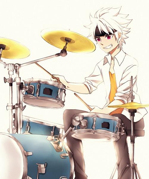 Tags: Anime, Pixiv Id 2423199, Inazuma Eleven GO Galaxy, Inazuma Eleven GO, Ibuki Munemasa, Drumsticks, Fanart From Pixiv, Pixiv, Fanart
