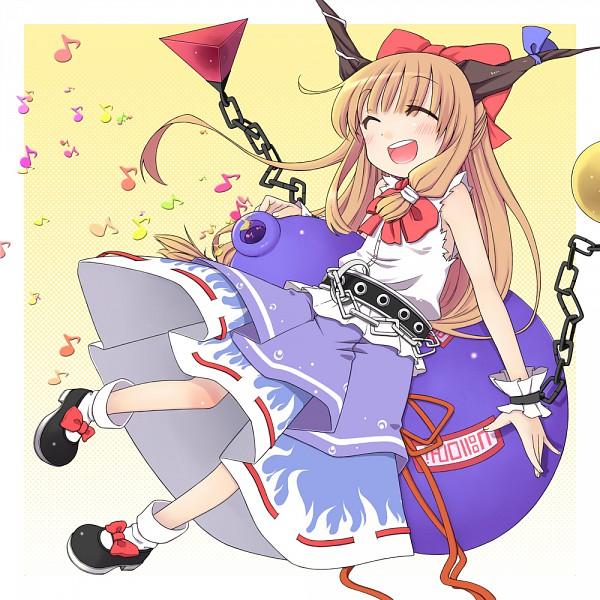 Tags: Anime, Chika (Orange Pop), Touhou, Ibuki Suika, Suika Ibuki