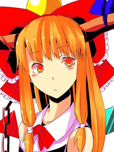 Tags: Anime, Touhou, Ibuki Suika, Pixiv, Fanart, Suika Ibuki