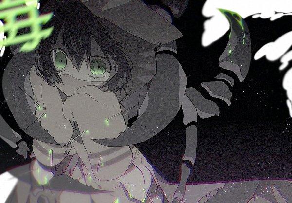 Tags: Anime, 10mae0, Kimi ga Shine, Ibushi Gin, Unusual Colored Blood, Wide Eyes, Medical Mask, Scene Reference, Fanart, Twitter, Gin Ibushi