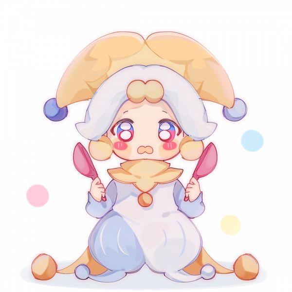 Tags: Anime, Threeerjiushisuier, Cookie Run: OvenBreak, Cookie Run, Ice Juggler Cookie, Clown, 1080x1080 Wallpaper, Wallpaper, Fanart, Lofter