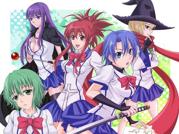 Tags: Anime, Ichiban Ushiro No Daimaou, Fujiko Etou, Hattori Junko, Soga Keena, Korone, Lily Shiraishi, Demon King Daimao