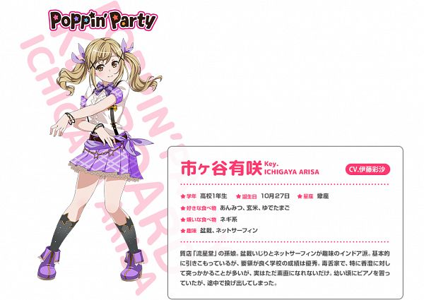 Ichigaya Arisa - BanG Dream!