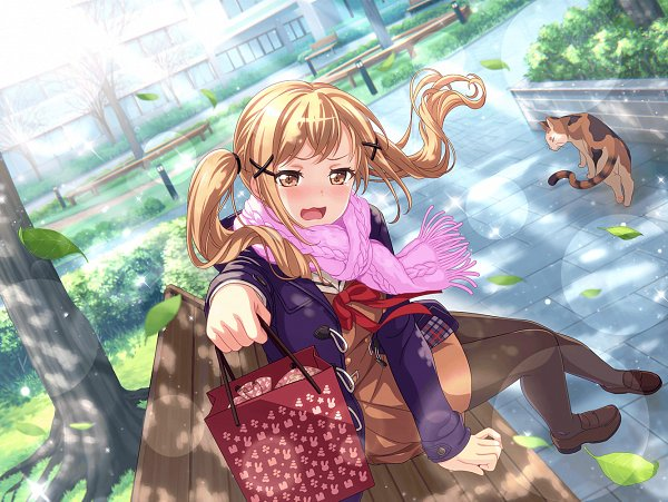 Tags: Anime, Craft Egg, BanG Dream! Girls Band Party!, BanG Dream!, Ichigaya Arisa, Official Card Illustration, Official Art