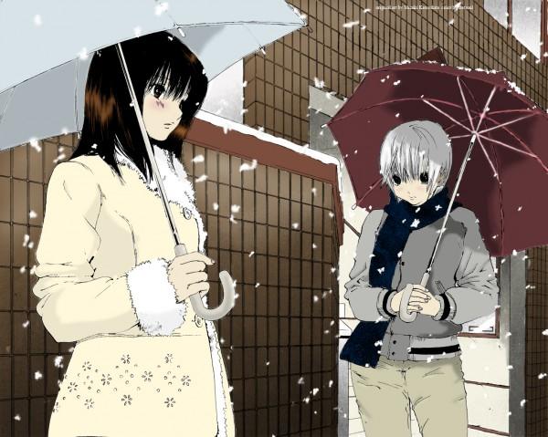Tags: Anime, Kawashita Mizuki, Stetsoul, Ichigo 100%, Colorization