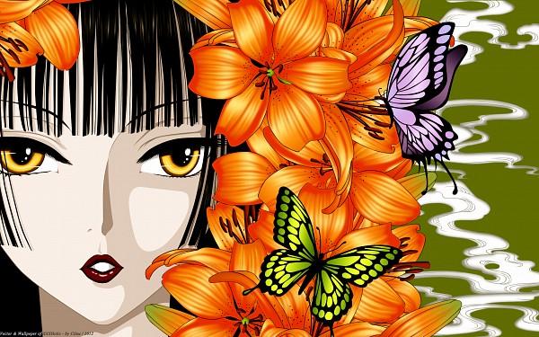 Tags: Anime, CLAMP, xxxHOLiC, Ichihara Yuuko, 2560x1600 Wallpaper, Wallpaper, Fanmade Wallpaper, Edited, HD Wallpaper