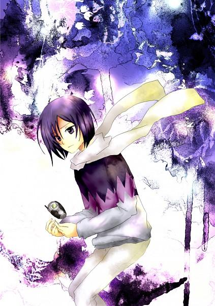 Tags: Anime, Goma (11zihisin), Digimon Adventure, Ichijouji Ken, Digivice