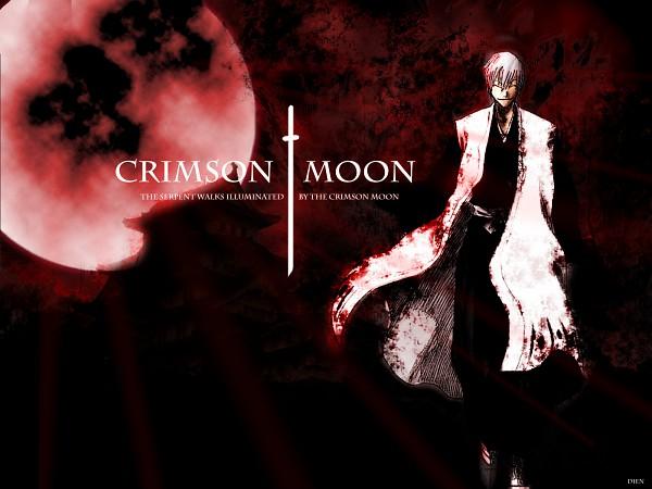Tags: Anime, BLEACH, Ichimaru Gin, Red Moon, Wallpaper, Gotei 13
