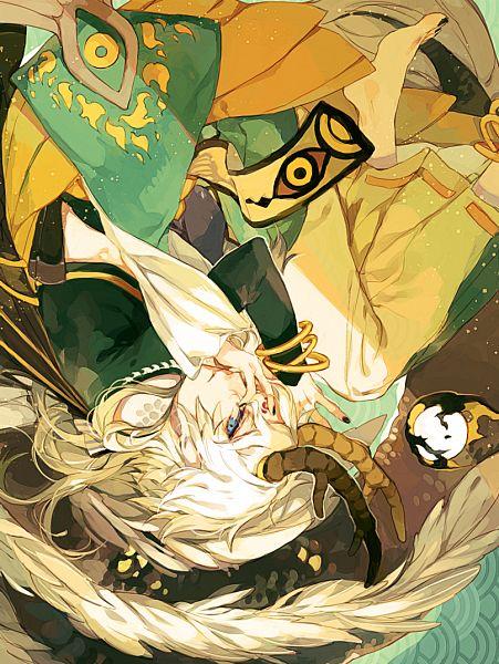 Tags: Anime, Pixiv Id 3323811, Onmyouji (NetEase), Ichimoku Ren (Onmyoji), Fanart From Pixiv, Pixiv, Fanart