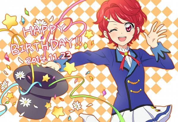 Tags: Anime, Pixiv Id 2494119, Aikatsu!, Ichinose Kaede, Streamers, Fanart, Fanart From Pixiv, Pixiv