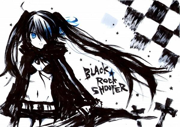 Tags: Anime, Ichinose Yukino, Black★Rock Shooter, Black★Rock Shooter (Character), Black Blade, Pixiv