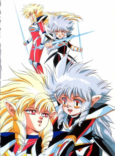 Tags: Anime, Toshihiro Hirano, Anime International Company, Iczer, Iczer-three (Iczer), Iczer-one (Iczer), Scan