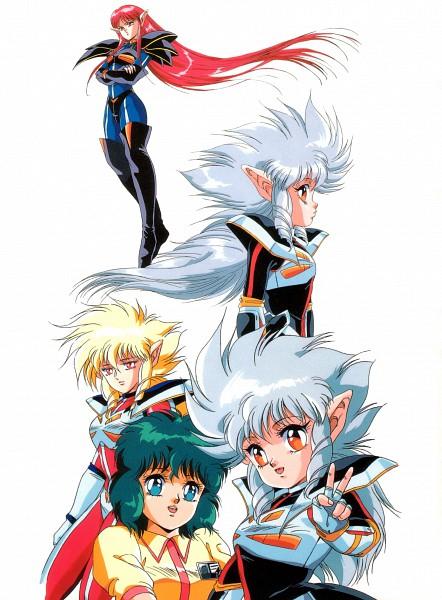 Tags: Anime, Toshihiro Hirano, Anime International Company, Iczer, Iczer-three (Iczer), Iczer-two (Iczer), Iczer-one (Iczer), Scan